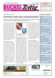 Nr. 7 / Juli 2013 - Herzogenbuchsee