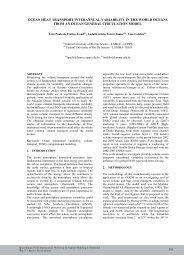 ocean heat transport interannual variability in the world ... - UFRJ
