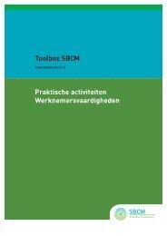 Werknemersvaardigheden - Toolbox 'arbeidsontwikkeling' - SBCM