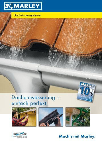 Duplex-Dachrinne - Hellweg