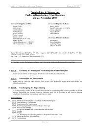 Protokoll FsV - Fachschaft Maschinenbau