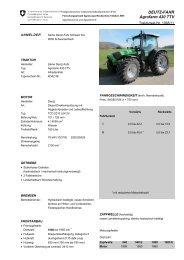 DEUTZ-FAHR Agrofarm 430 TTV - Agroscope