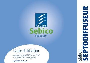 Guide d'utilisation - Site interministériel sur l'assainissement non ...