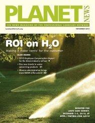 ROI on H2 O - LandcareNetwork.org