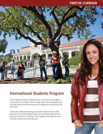 International Students Application - Pierce College