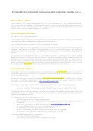 reglement du concours coca-cola prix du design durable 2013