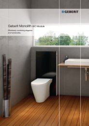 Geberit Monolith WC Module - Products