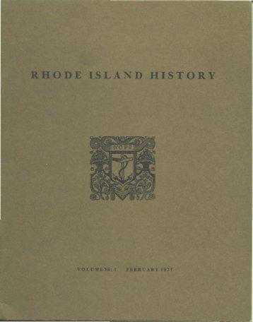 t:1 - Rhode Island Historical Society