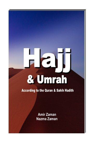 Hajj Guide Book in English - The Message