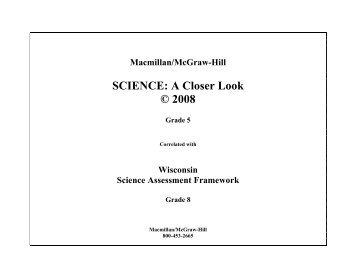 Tn science a closer look grade 2 macmillanmcgraw hill science a closer look 2008 grade 5 macmillanmcgraw hill fandeluxe Images