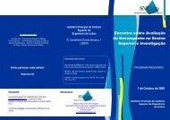 Encontro sobre Avaliação de Desempenho no Ensino ... - SNESup