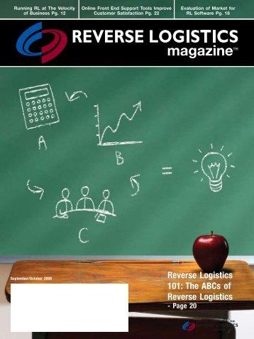 articles - Reverse Logistics Magazine