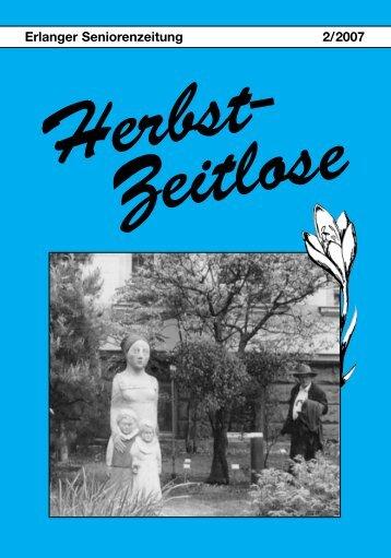 Herbst-Zeitlose Ausgabe 2-2007 (52 Seiten; 4