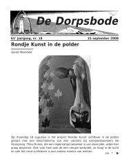Rondje Kunst in de polder - Digitale Dorpsbode Schiermonnikoog