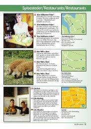 Spisesteder/Restaurants/Restaurants - Den lille turisme