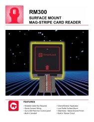 rm300 surface mount mag-stripe card reader