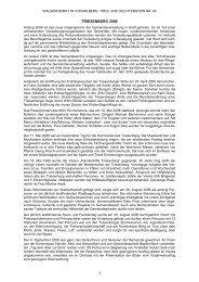 Chronik der Gemeinde Triesenberg für das Jahr 2008 - Vorarlberger ...