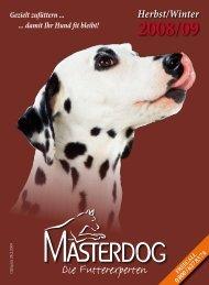 Masterdog Herbst-Winter-Katalog - Masterhorse GmbH