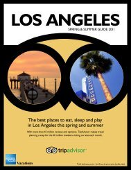 Download Destination Guide (PDF) - American Express Vacations
