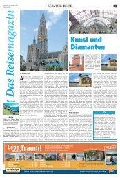 SVO: Das Reisemagazin 20. Oktober 2012 - Hertener Allgemeine
