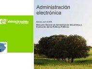 Administración electrónica - Diputación de Badajoz