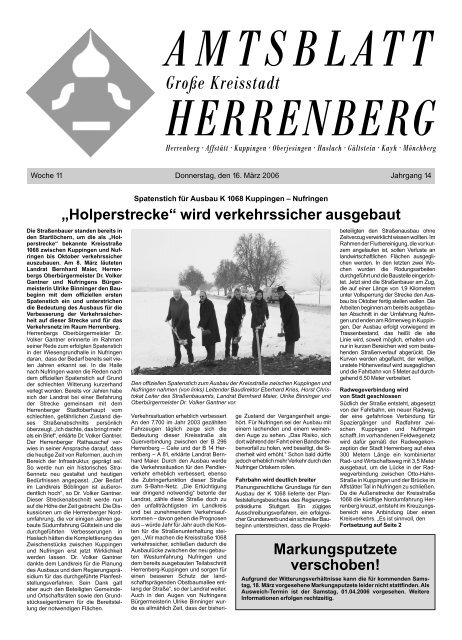 Große Kreisstadt Herrenberg