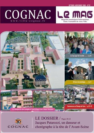 LE DOSSIER / Pages 20-21 - Ville de Cognac