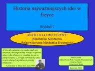 (Mechanika kwantowa). - Uniwersytet Śląski