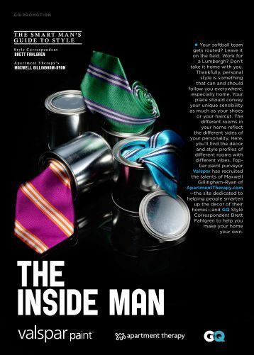 THE INSIDE MAN - GQ Design Group