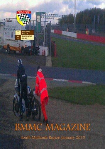 BMMC MAGAZINE - British Motor Racing Marshals Club
