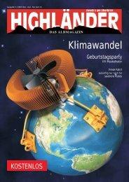 Klimawandel - Highländer Albmagazin