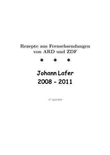 Johann Lafer 2008 - 2011