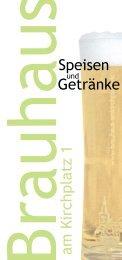 Unsere Karte (PDF-Dokument) - Brauhaus am Kirchplatz 1