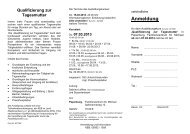 Anmeldung - KEB Aschendorf-Hümmling