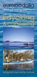 Land ofmany waters kayaking - Eurobodalla