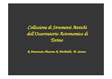 foto - Osservatorio Astronomico di Torino