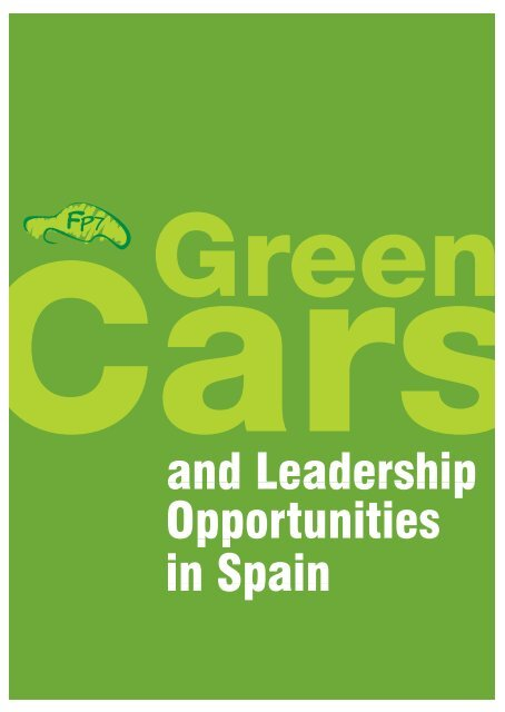 Fp7 Green Cars And Leadership Opportunities In Spain Ertrac