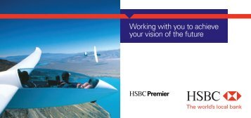 Working with you to achieve your vision of the future - HSBC Africa