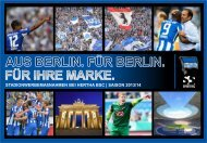 Download als PDF - Hertha-VIP
