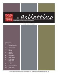 Il Bollettino - Vol. 3 Iss. 1 - Center for the Biology of Natural Systems ...