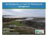 An Introduction to Tools for Planning and Management - PRBO ...