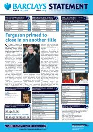 Ferguson primed to close in on another title - Action Images