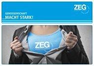 Genossenschaft macht stark - ZEG Zentraleinkauf Holz und ...