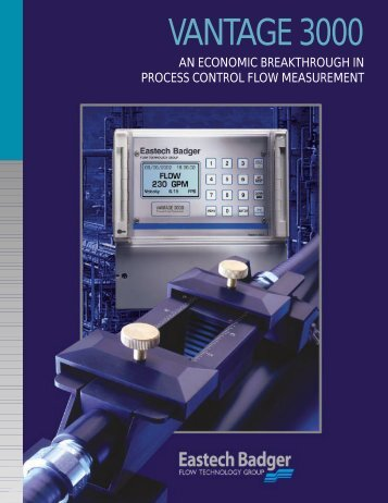 SCOPE OF MANUAL - Eastech Flow Controls