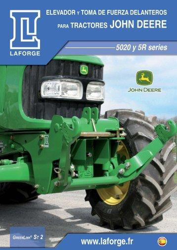 tractores JOHN DEERE - Laforge