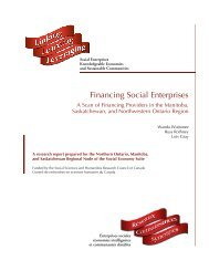 Financing Social Enterprises - Centre for the Study of Co-operatives