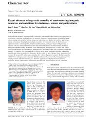 Recent advances in large-scale assembly of semiconducting ...