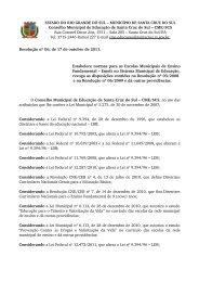 Resolução nº 06, de 17 de outubro de 2011 - Prefeitura de Santa ...