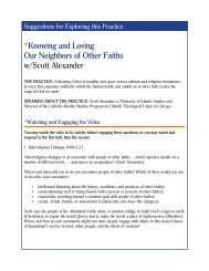 *Knowing and Loving Our Neighbors of Other Faiths w/Scott Alexander