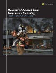 Motorola's Advanced Noise Suppression Technology